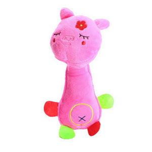 pink Soft Plush Play Sound Teeth Toys
