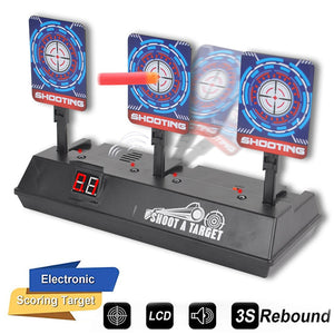 Auto Reset Electronic Shooting Target Toy