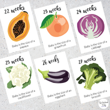 Load image into Gallery viewer, Pregnancy Cards - Week by week