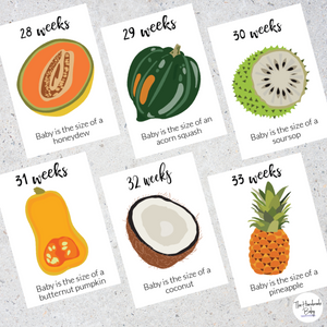 Pregnancy Cards - Week by week