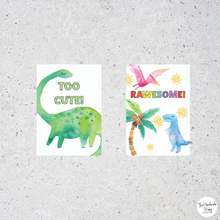 Load image into Gallery viewer, Dinosaur Baby Milestone Cards