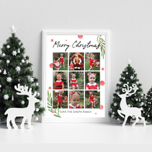 Load image into Gallery viewer, Personalised Christmas Collage