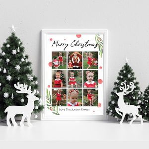 Personalised Christmas Collage