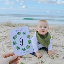 Load image into Gallery viewer, Tropical Baby Milestone Cards