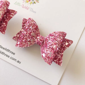 Pink Galaxy Dolly Pig Tail Set