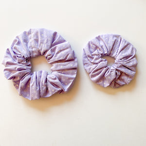Mummy & Me Matching Scrunchies - Purple