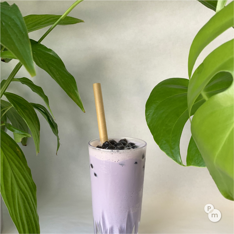 Biodegradable Paper Straws (Bubble Tea Size) - 200pcs