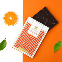 Load image into Gallery viewer, Orange & Cocoa Nibe 71% Dark Chocolate Bar (Vegan)