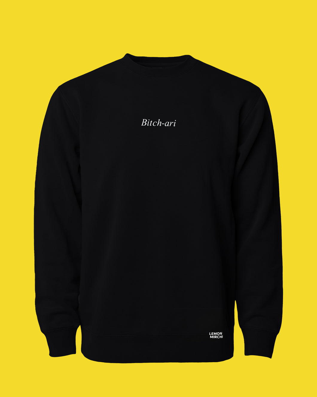 Bitch-ari Crewneck Sweatshirt