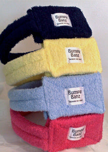 Bumpa Banz, pink, light blue, navy, yellow, bumpa banz head protection