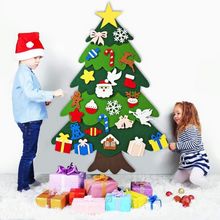 Load image into Gallery viewer, Send LED String Light for  Free - DIY Felt Tree & Spare Ornaments Bundle