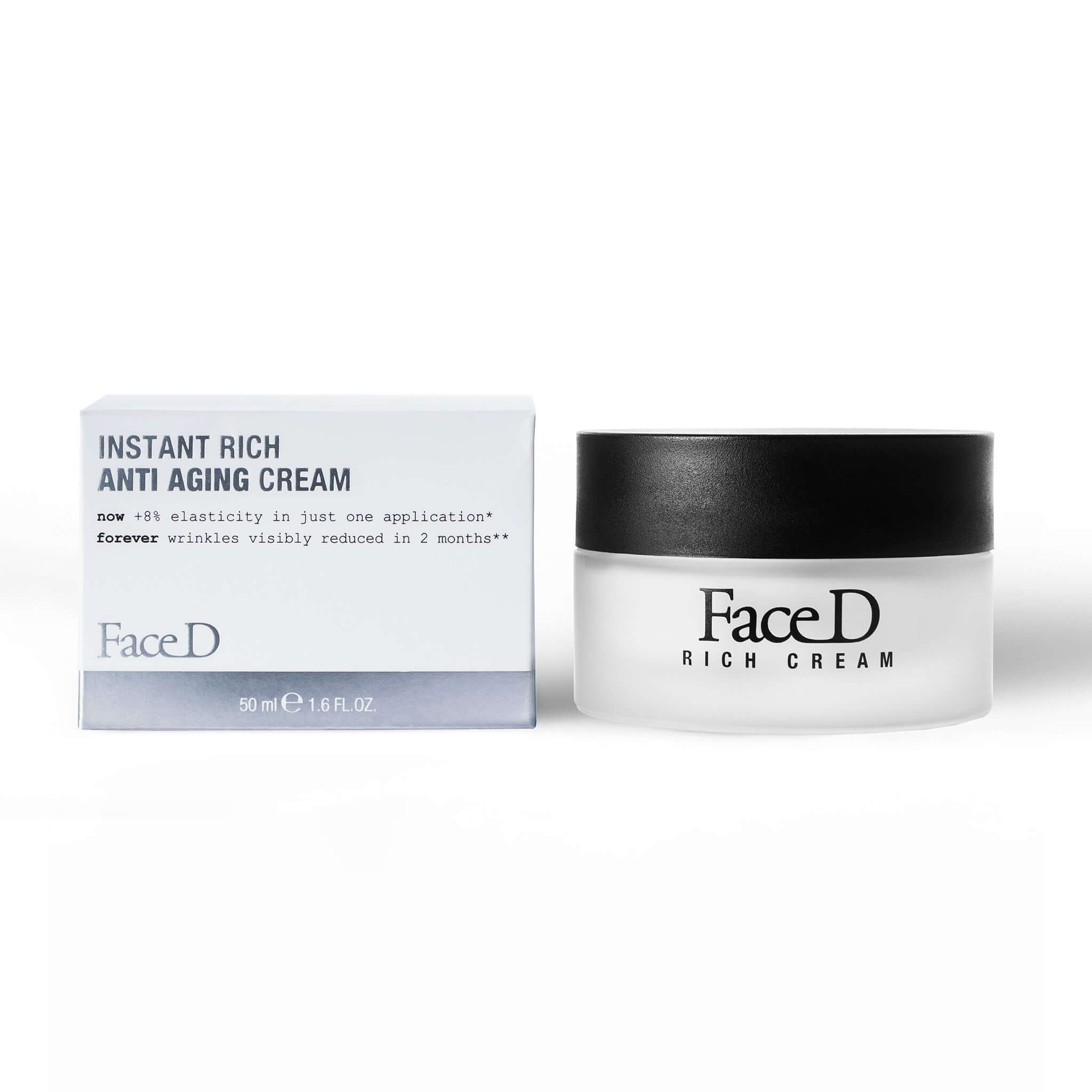 Instant-Rich-Anti-aging-Face-Neck-Cream-FaceD-Anti-Ageing-Anti-Wrinkle || Crema-viso-collo-antietà-Instant-Rich-FaceD-antietà-antirughe