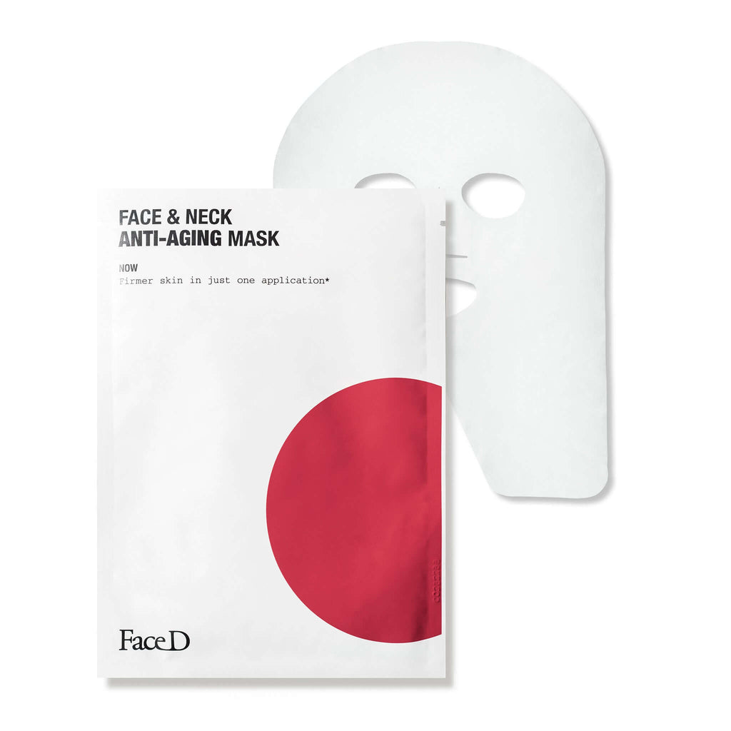 Anti-wrinkle-Face-Neck-Mask-FaceD-Anti-Ageing-Anti-Wrinkle || Maschera-anti-età-viso-collo-FaceD-antietà-antirughe