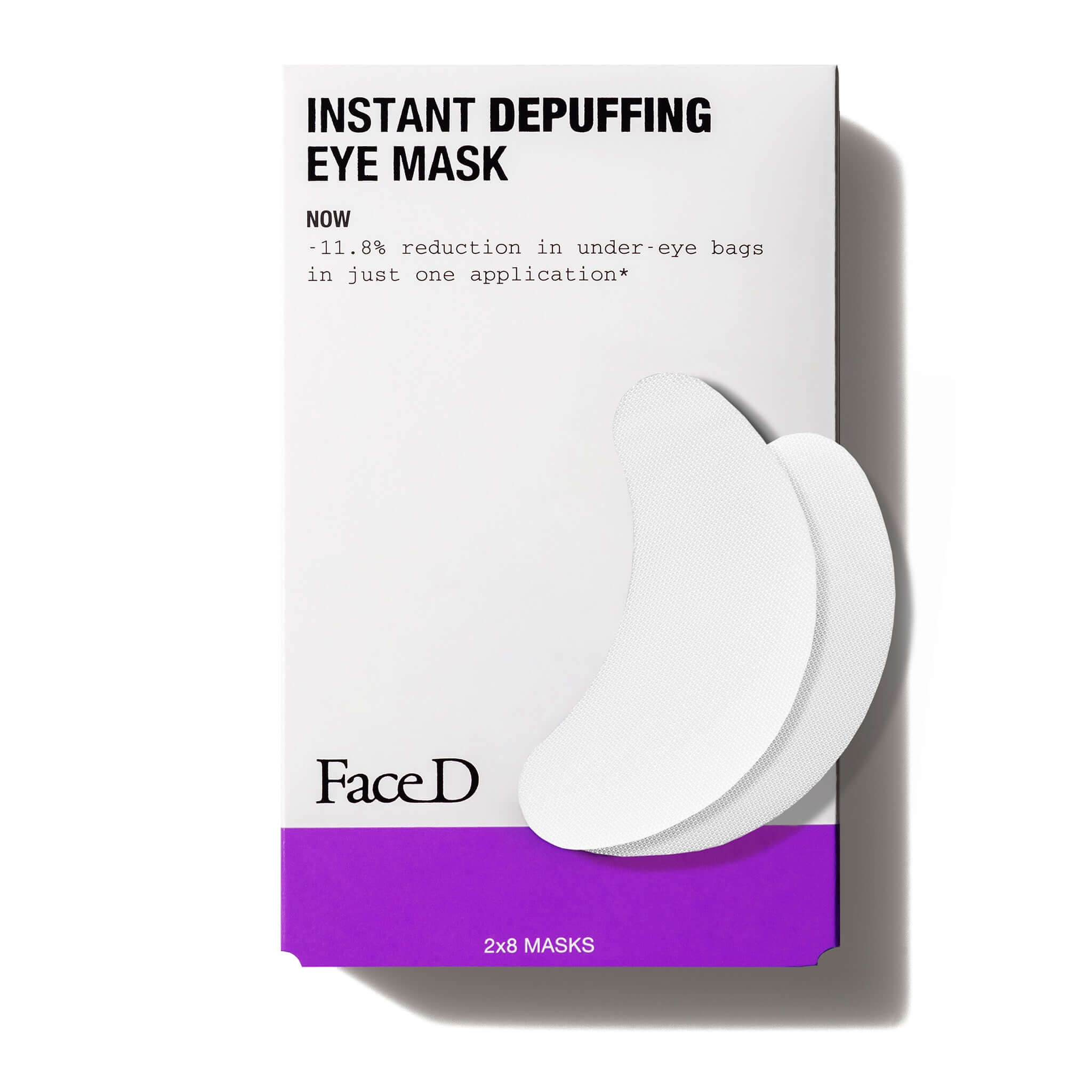 Instant-Effect-Depuffing-Eye-Mask-FaceD-Eye-Lip-Care || Maschera-contorno-occhi-defaticante-FaceD-Occhi-labbra