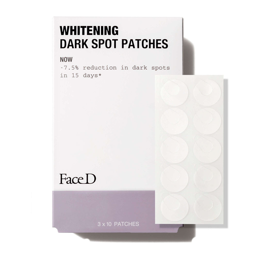 Whitening-Dark-Spot-Patches-FaceD-Anti-Dark-Spots-Pore-Minimizing || Patch-viso-corpo-schiarenti-FaceD-Contro-macchie-pori-dilatati
