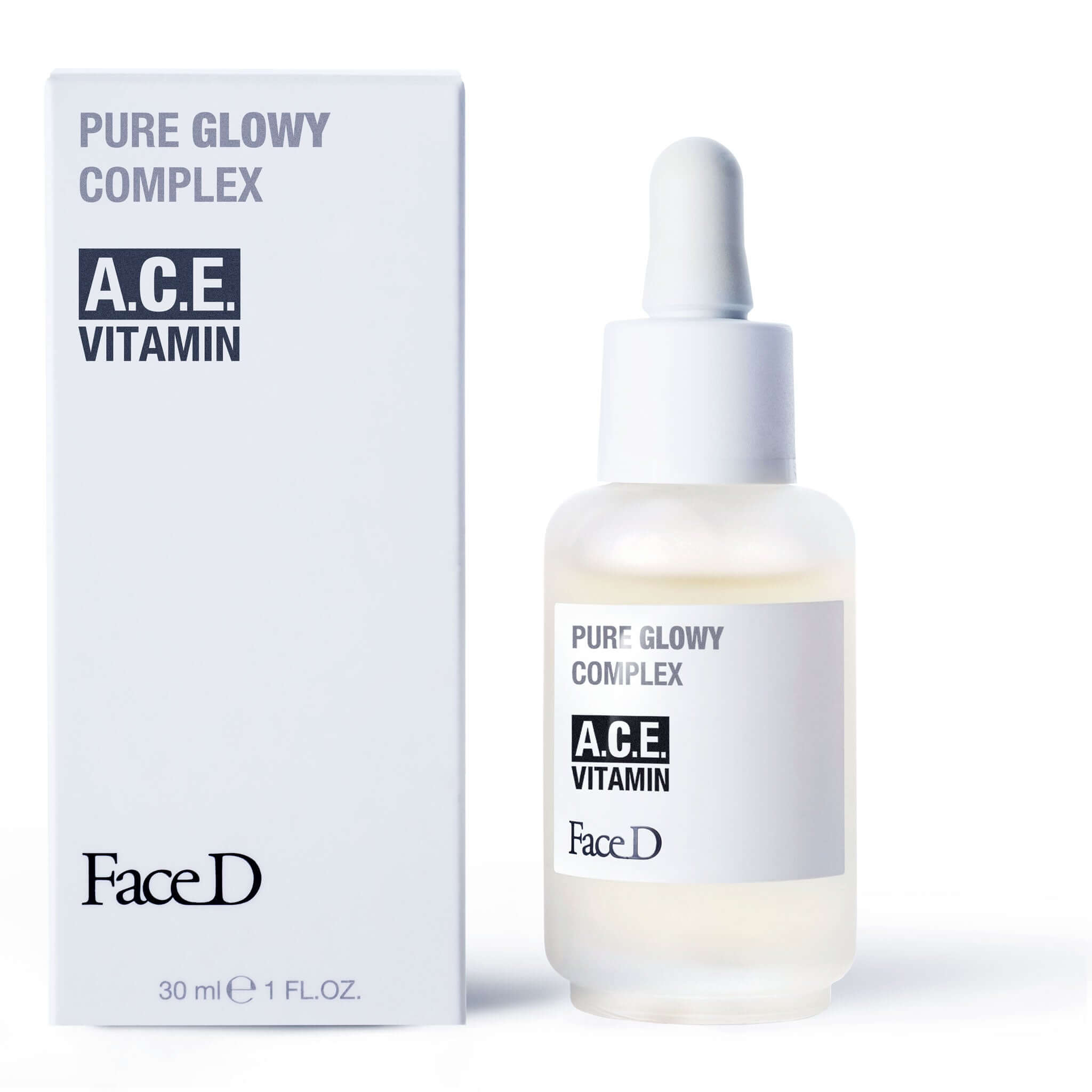 Pure-Glowy-complex-ace-vitamin-FaceD-Anti-Ageing-Anti-Wrinkle || Pure-Glowy-complesso-vitamine-ACE-FaceD-Antietà-Antirughe