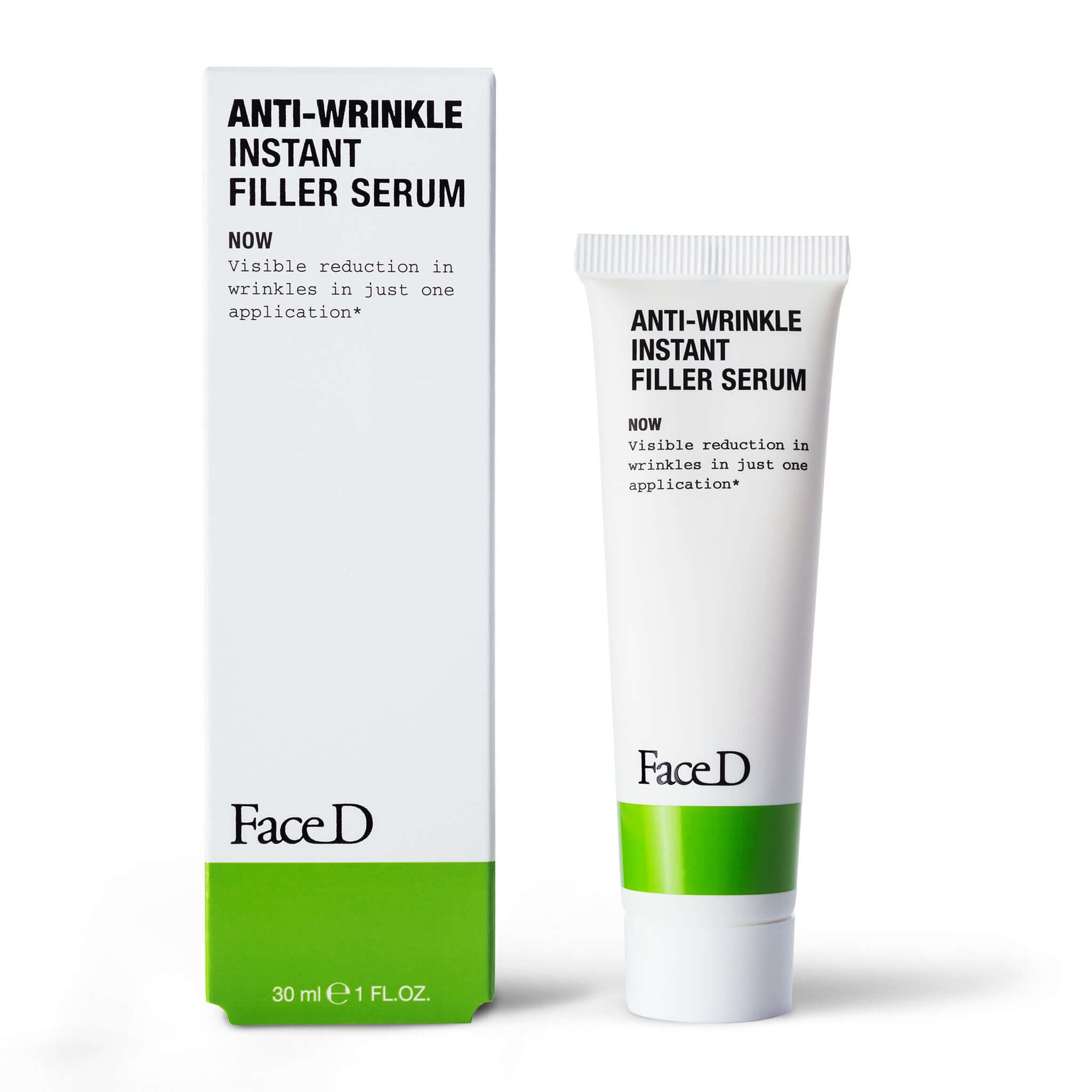 Anti-wrinkle-Instant-Filler Serum-FaceD-Anti-Ageing-Anti-Wrinkle || Siero-Filler-Antirughe-istantaneo-FaceD-antietà-antirughe