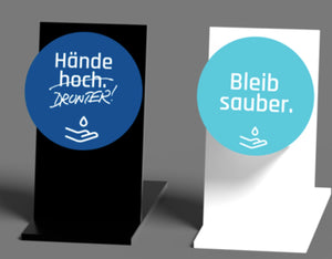 Theken Design-Dispenser mit Motiv