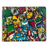 Marvel - Captain America Avengers All Over Print Bi-Fold Wallet