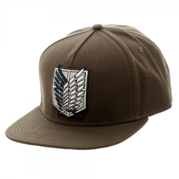 Attack on Titan Scout Canvas Snapback