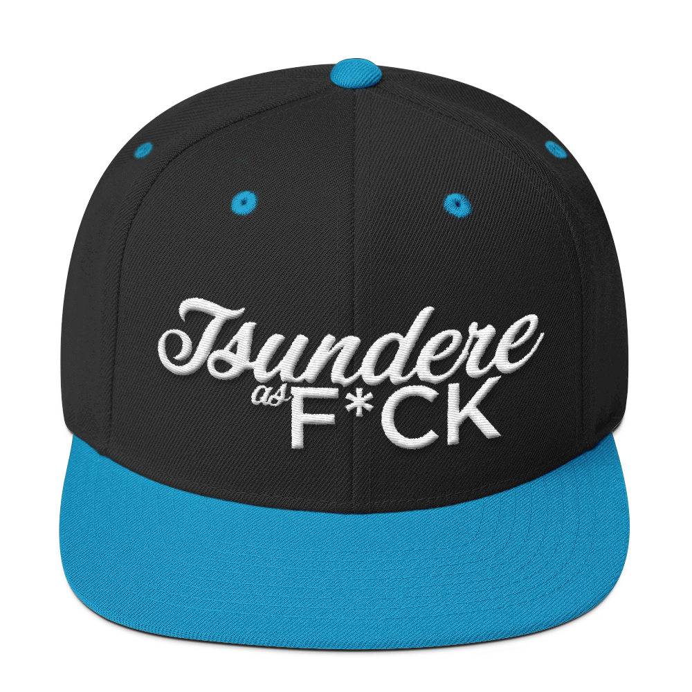 Tsundere as F*CK Wool Blend Snapback