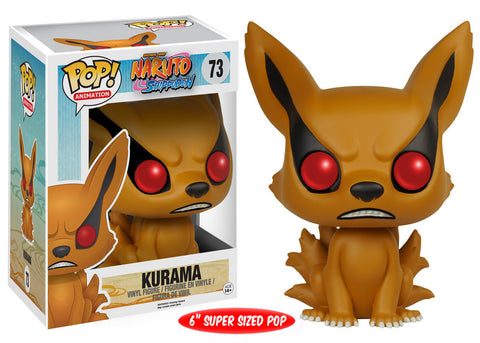 "Naruto - Kurama ""Nine-Tailed Fox"" 6"" Pop Figure"