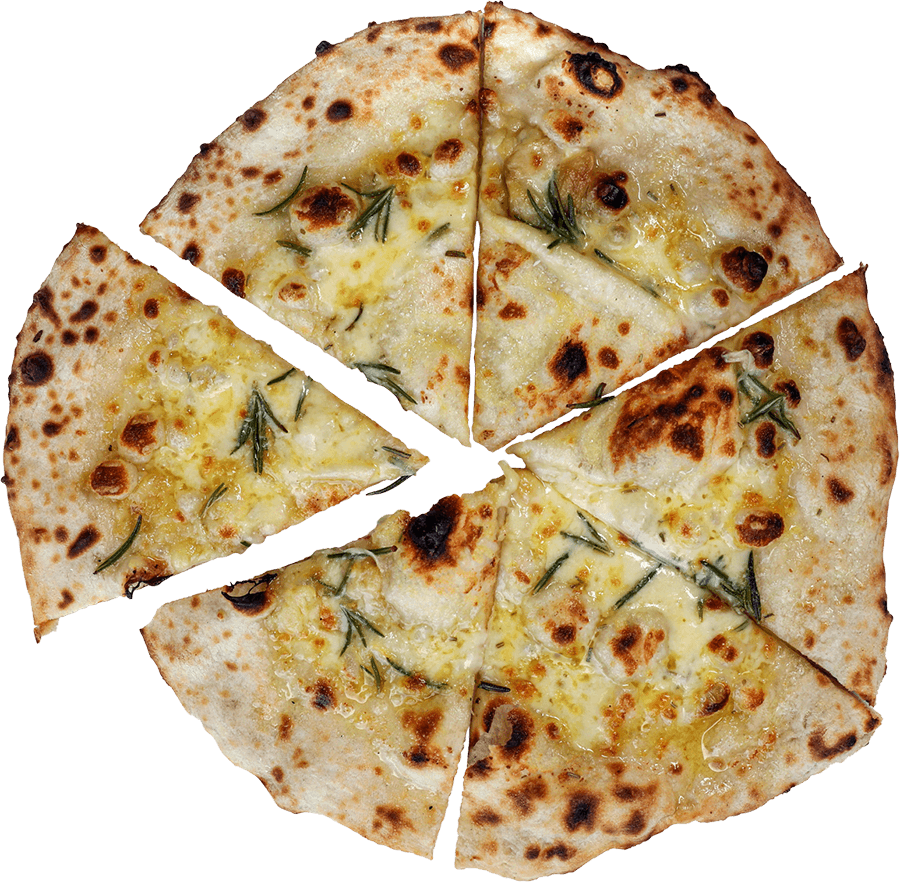 Cheesy Garlic Vegetarian Pizza Camp