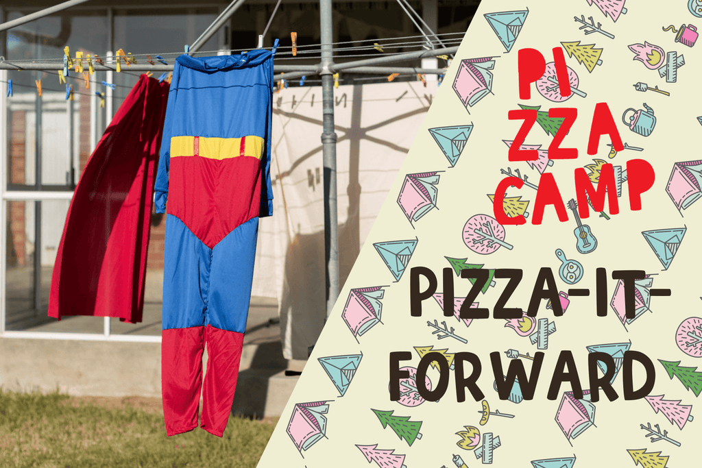 Pizza-It-Forward to Charity Gift Card Pizza Camp