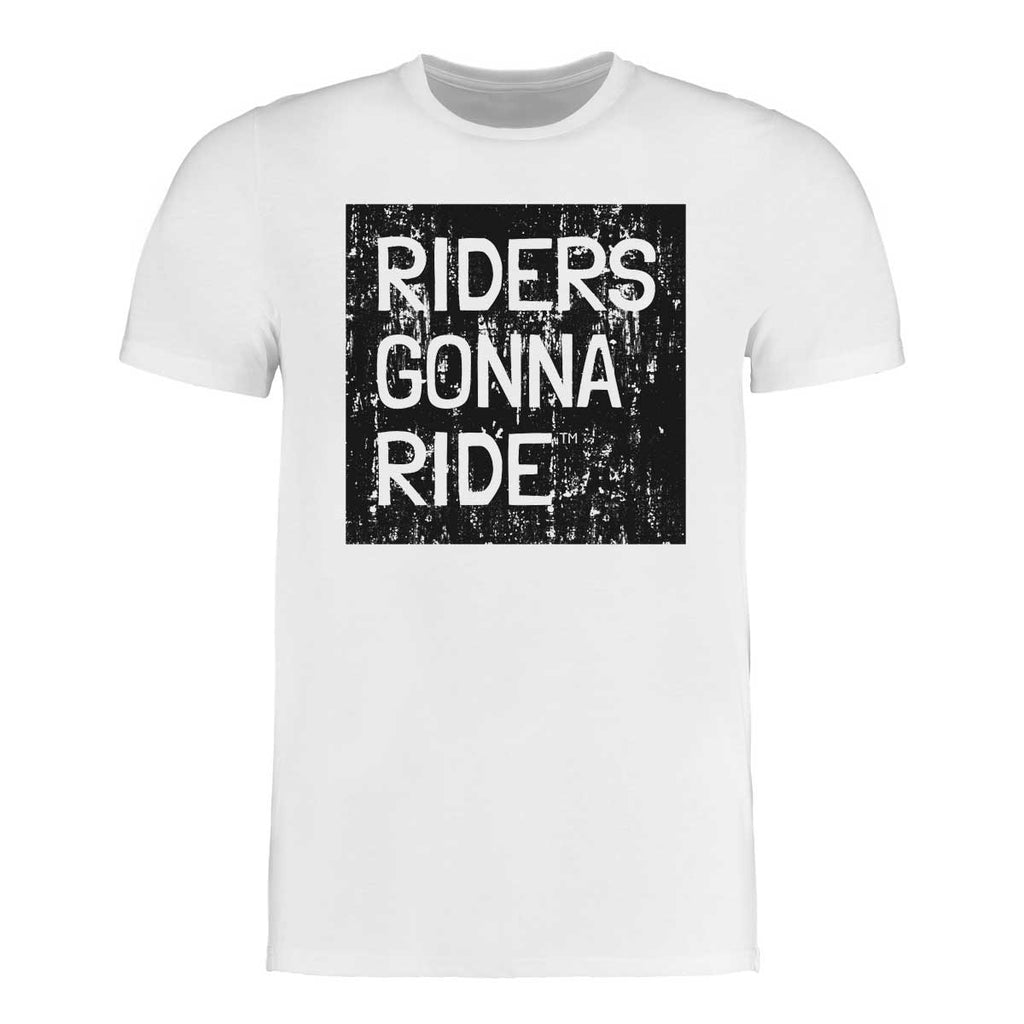 RIDERS GONNA RIDE® T-Shirt LOGO GRUNGE - RIDERS GONNA RIDE®