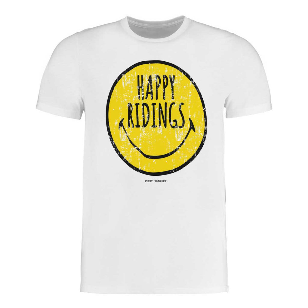 RIDERS GONNA RIDE® T-Shirt HAPPY RIDINGS - RIDERS GONNA RIDE®