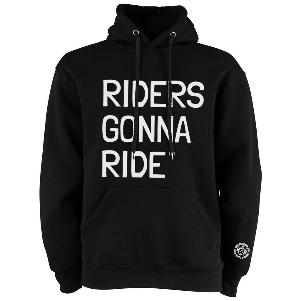 RIDERS GONNA RIDE® Hoodie LOGO - RIDERS GONNA RIDE®