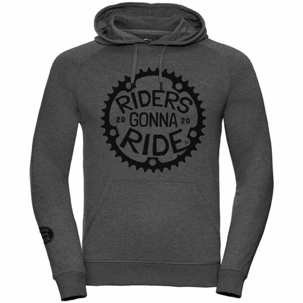 RIDERS GONNA RIDE® Hoodie Light CHAINRING