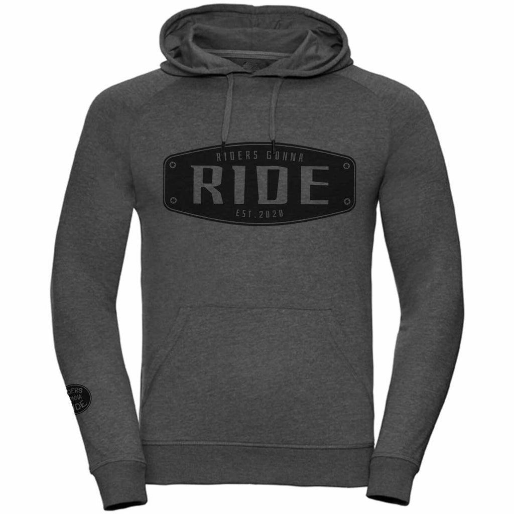 RIDERS GONNA RIDE® Hoodie Light BADGE