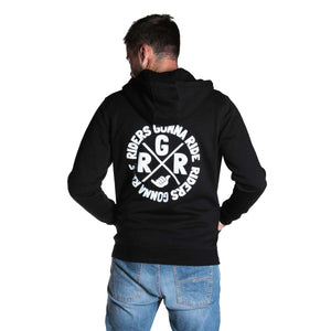 RIDERS GONNA RIDE® Hoodie Jacket SIGNET - RIDERS GONNA RIDE®