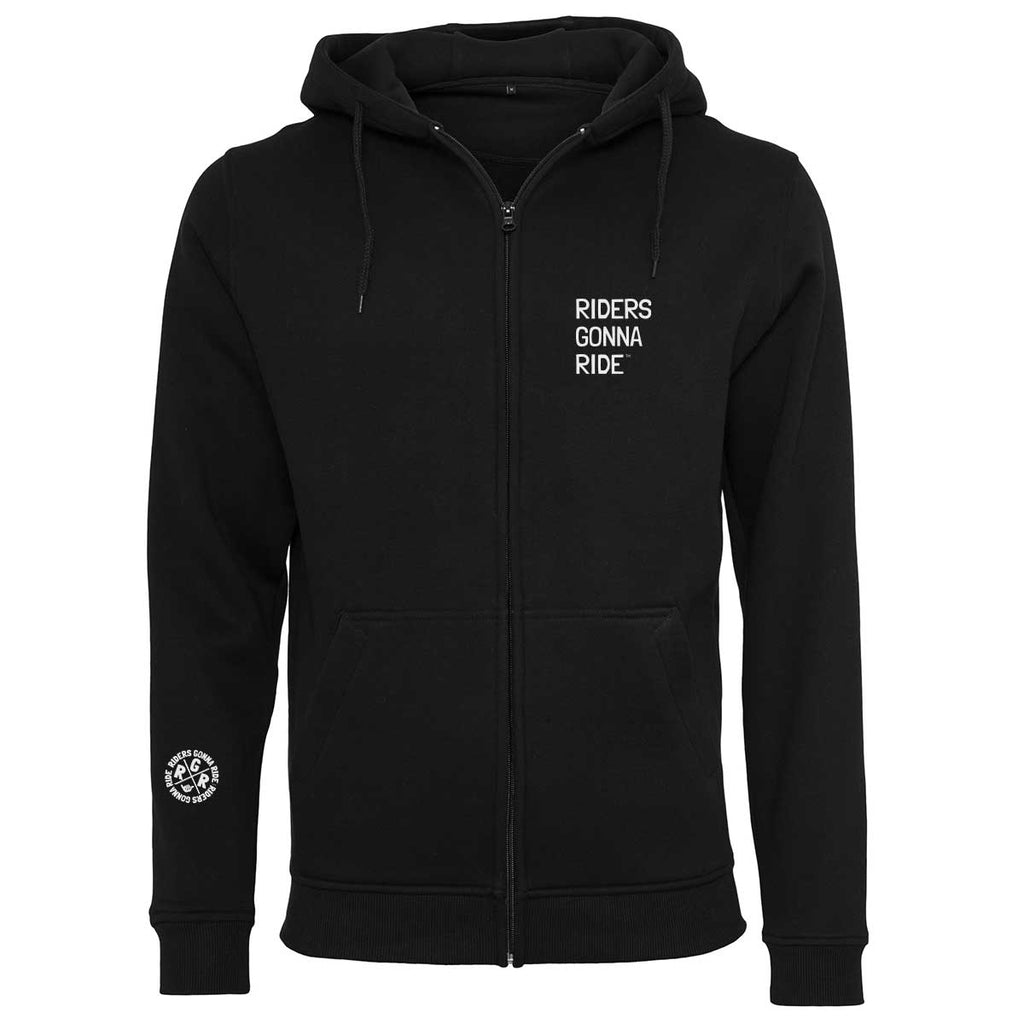 RIDERS GONNA RIDE® Hoodie Jacket NO RISK - RIDERS GONNA RIDE®