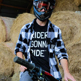RIDERS GONNA RIDE® Holzfäller Hemd NO RISK - RIDERS GONNA RIDE®