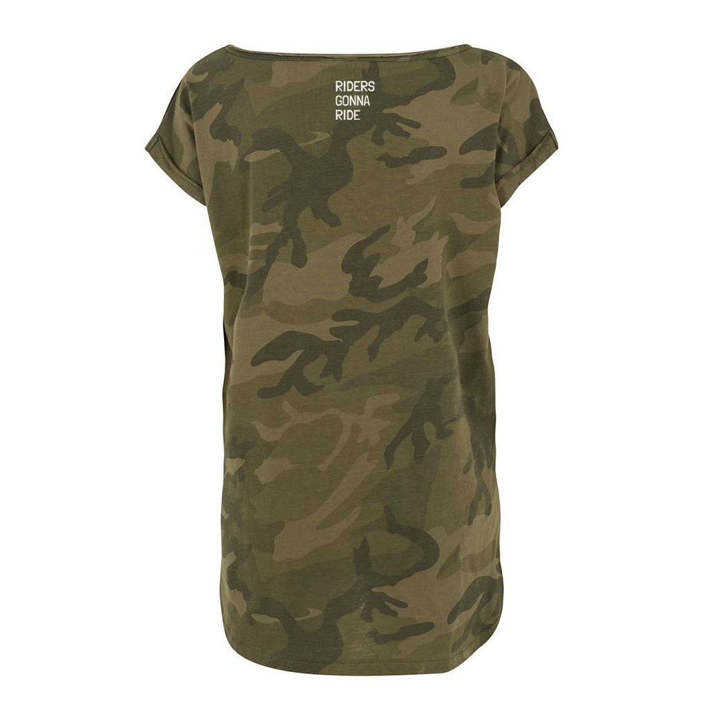 RIDERS GONNA RIDE® T-Shirt Girls Camo - RIDERS GONNA RIDE®