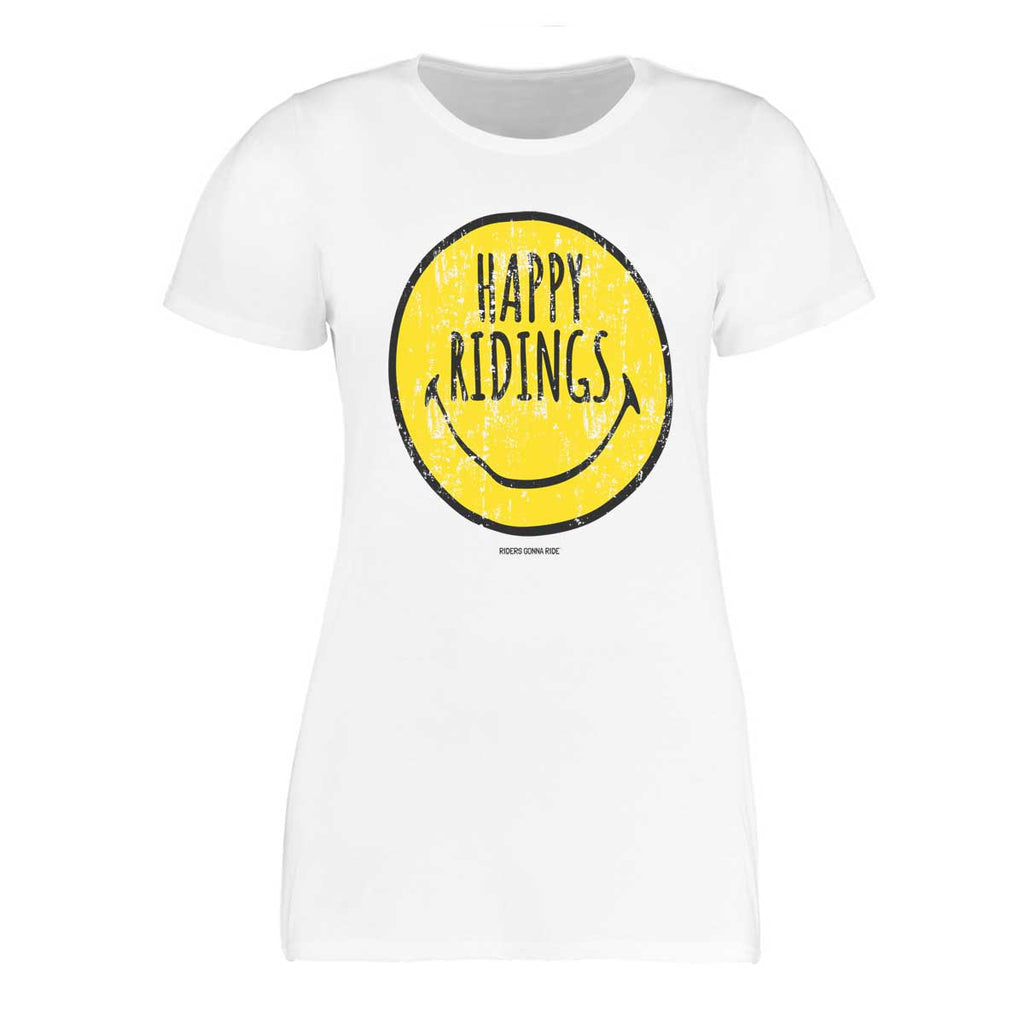 RIDERS GONNA RIDE® T-Shirt Girls HAPPY RIDINGS - RIDERS GONNA RIDE®