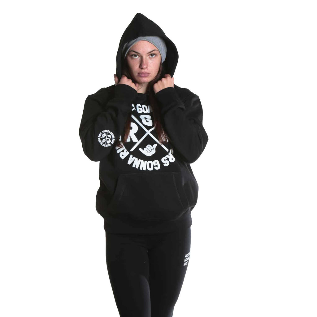 RIDERS GONNA RIDE® Hoodie Girls SIGNET - RIDERS GONNA RIDE®