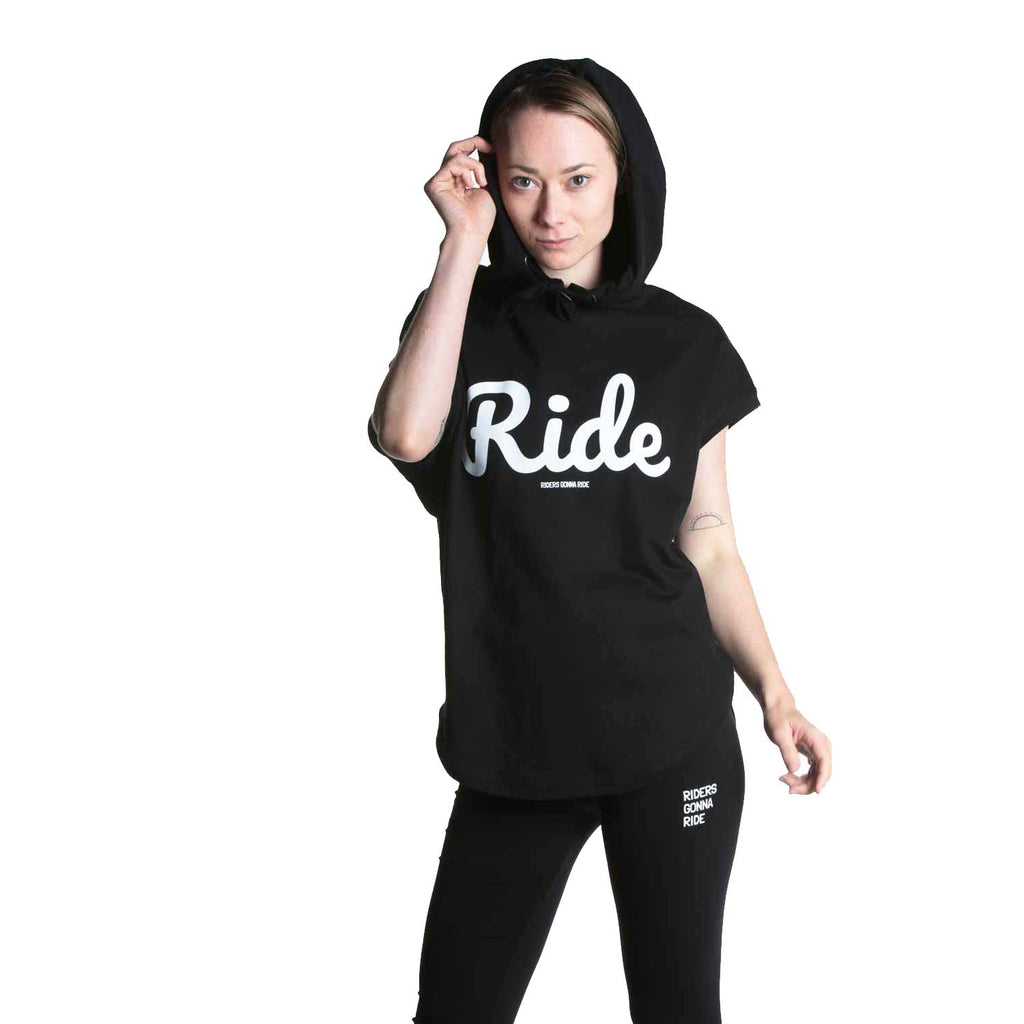 RIDERS GONNA RIDE® Hoodie Sleeveless RIDE - RIDERS GONNA RIDE®