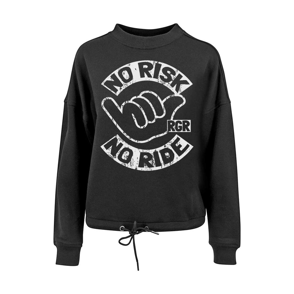 RIDERS GONNA RIDE® Oversize Pulli Girls NO RISK - RIDERS GONNA RIDE®