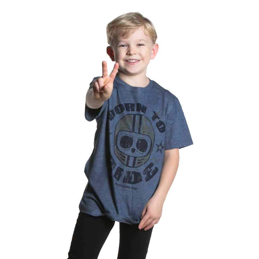 RIDERS GONNA RIDE® T-Shirt Kids BORN TO RIDE - RIDERS GONNA RIDE®