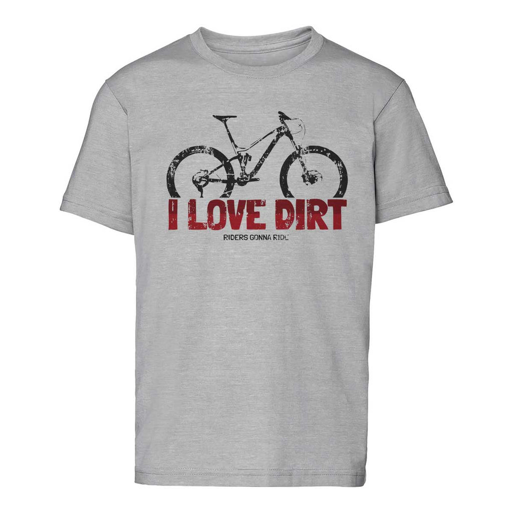 RIDERS GONNA RIDE® T-Shirt Kids LOVE DIRT - RIDERS GONNA RIDE®