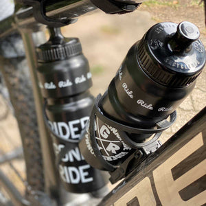 RIDERS GONNA RIDE® Trinkflasche Bio