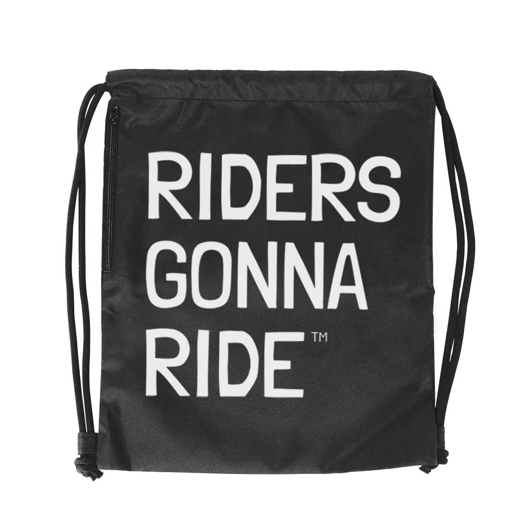 RIDERS GONNA RIDE® Gymsack LOGO - RIDERS GONNA RIDE®
