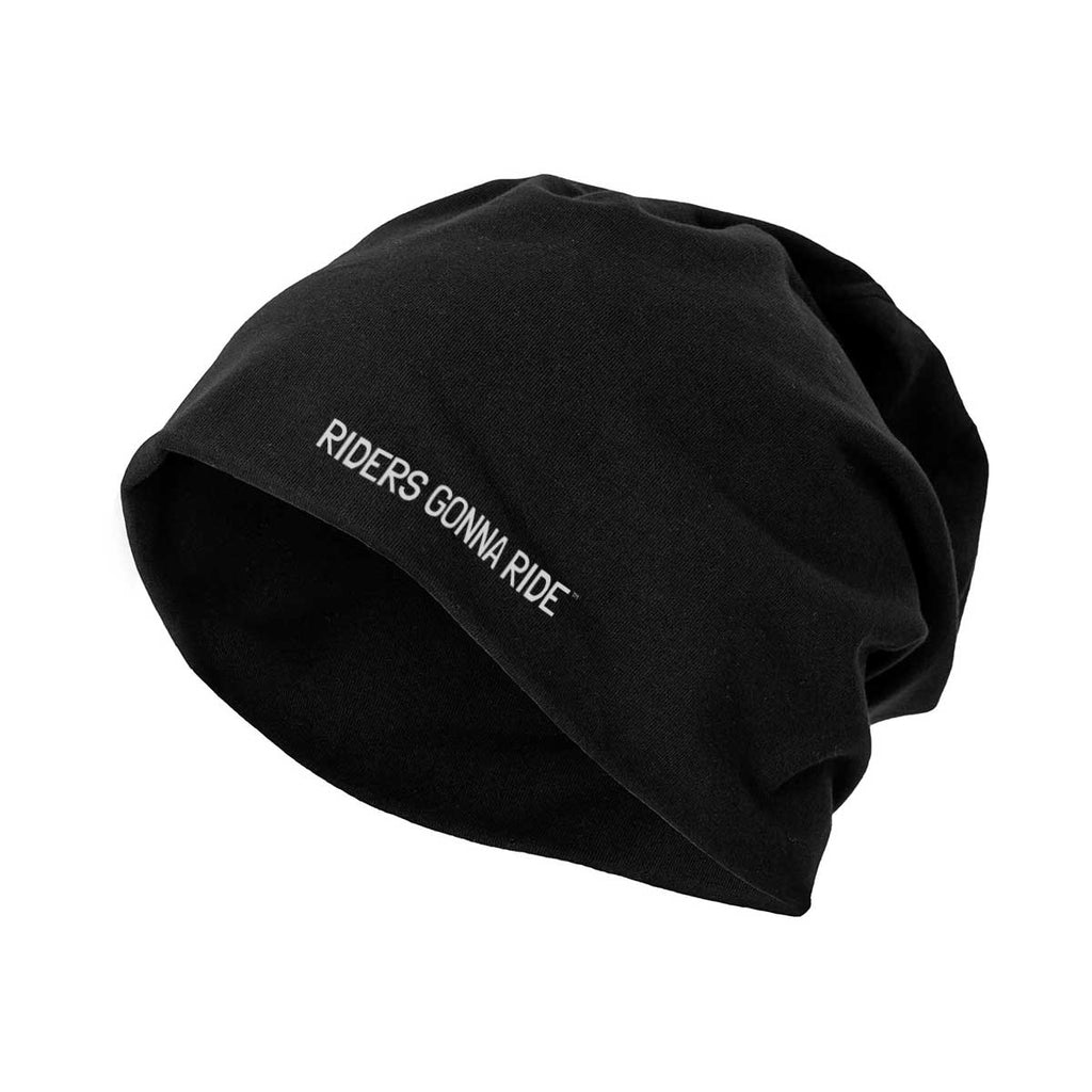 RIDERS GONNA RIDE® Beanie Jersey Black - RIDERS GONNA RIDE®