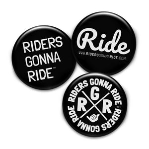 RIDERS GONNA RIDE® Button Set - RIDERS GONNA RIDE®