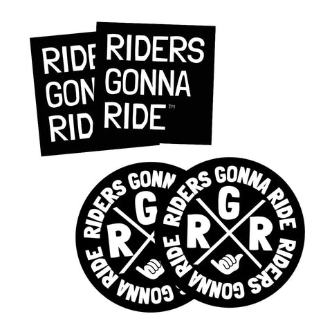 RIDERS GONNA RIDE® Sticker Set - RIDERS GONNA RIDE®
