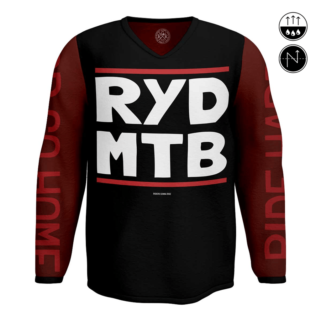 RIDERS GONNA RIDE® MTB Jersey Longsleeve RYD - RIDERS GONNA RIDE®