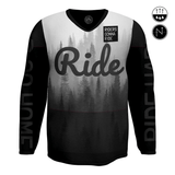 RIDERS GONNA RIDE® MTB Jersey Longsleeve RIDE - RIDERS GONNA RIDE®